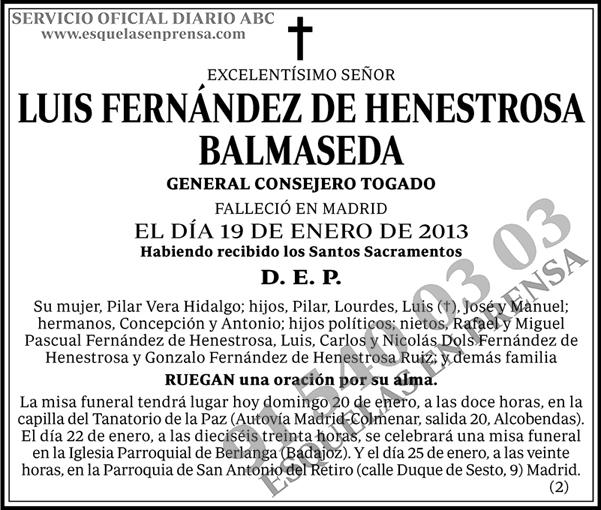 Luis Fernández de Henestrosa Balmaseda